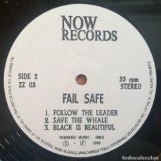 Discos de vinilo: LP MUY RARO, FAIL SAFE - FOOLS GOLD, 1990, ROCK, BLUES. Lote 272858983