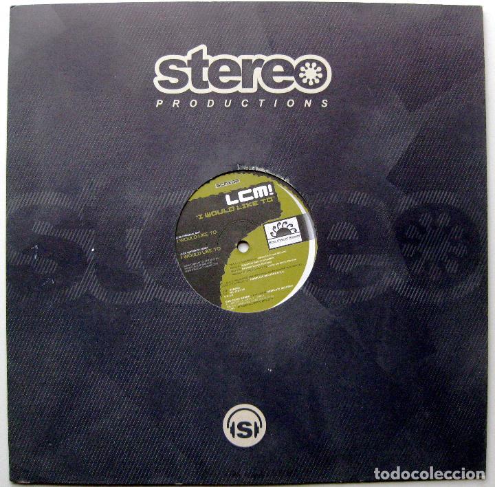 LCM! - I WOULD LIKE TO - MAXI SUN COAST SOUND 2005 BPY (Música - Discos de Vinilo - Maxi Singles - Techno, Trance y House)