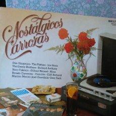 Discos de vinil: NOSTALGICOS CARROZAS. THE TOUNG ONES. CIUDAD SOLITARIA.. Lote 272880088