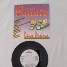 "Discos de vinilo: BAILATE ""MIX"",PROMO BOY RECORDS COM-02, SINGLE SIDED. Lote 272884043"