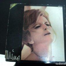 Discos de vinilo: MINA: EDICION URUGUAY-- ITALY MUSIC: VINTAGE PIECE FOR COLLECTORS- ITALIAN FEMALE SINGER. Lote 272884208