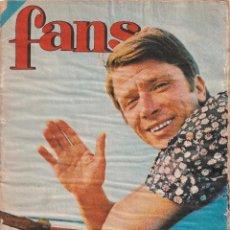 Discos de vinilo: REVISTA FANS - PÓSTER IVA ZANICCHI - FEMINISMO, BEATNIKS, MAMA`S AND THE PAPPA`S - 1966 - 68. Lote 272887063