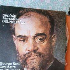 Discos de vinil: DVORAK, SINFONIA Nº9 DEL NOU MON. GEORGE SZELL ORQUESTA DE CLEVELAND.. Lote 272887138
