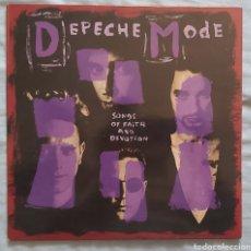 """Discos de vinil: DEPECHE MODE """"SONGS OF FAITH & DEVOTION"""" LP. Lote 272896688"""