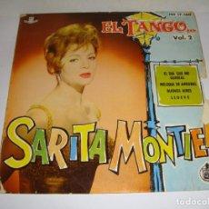 Discos de vinilo: DISCO DE VINILO. SINGLE. SARITA MONTIEL (EL DIA QUE ME QUIERAS/MELODIA DE ARRABAL/BUENOS AIRES...). Lote 272910298