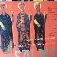 Discos de vinil: SALMS. MIQUEL MANZANO.. Lote 272910778