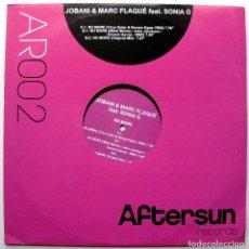 Discos de vinilo: JOBANI & MARC FLAQUÉ FEAT. SONIA G - NO MORE - MAXI AFTERSUN RECORDS 2007 BPY. Lote 272911023