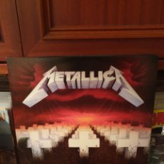 Disques de vinyle: METALLICA / MASTER OF PUPPETS / NOT ON LABEL. Lote 272929758