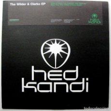 Discos de vinilo: WILDER & CLARKE / SHINY GREY - THE WILDER & CLARKE EP - MAXI HED KANDI 2006 UK BPY. Lote 272938548