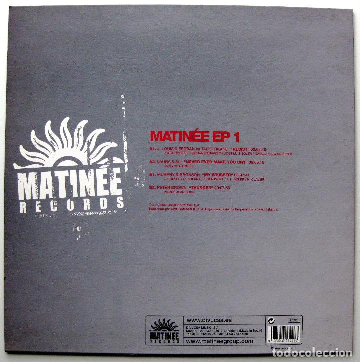 Discos de vinilo: Varios - Matinée EP 1 - Maxi Matinée Records 2006 BPY - Foto 2 - 272962773