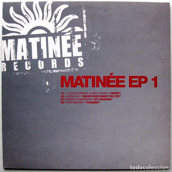 VARIOS - MATINÉE EP 1 - MAXI MATINÉE RECORDS 2006 BPY (Música - Discos de Vinilo - Maxi Singles - Techno, Trance y House)