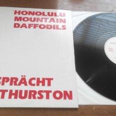Discos de vinilo: HONOLULU MOUNTAIN DAFFODILS – ALSO SPRÄCHT SCOTT THURSTON-MAXI-ESPAÑA-1989- VINILO NUEVO. Lote 272969698