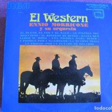 Dischi in vinile: LP - ENNIO MORRICONE Y SU ORQUESTA - EL WESTERN (SPAIN, RCA 1972). Lote 272981303