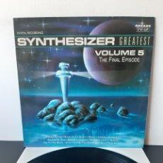 Discos de vinilo: SYNTHESIZER. VOL 5. THE FINAL EPISODE. 1991. ESP.. Lote 272982743