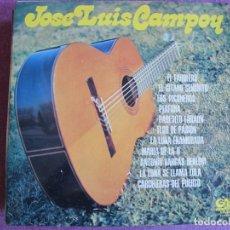 Disques de vinyle: LP - JOSE LUIS CAMPOY - MISMO TITULO (SPAIN, GRAMUSIC 1975). Lote 272984988