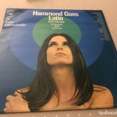 "Discos de vinilo: HERB WONDER ""HAMMOND GOES LATIN"", VINILO. Lote 273003503"