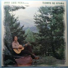 Discos de vinilo: JOSÉ LUIS PERALES TIEMPO DE OTOÑO - 1979 - PERFECTO ESTADO. Lote 273035733
