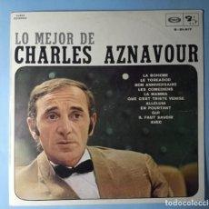 Discos de vinil: LO MEJOR DE CHARLES AZNAVOUR - 1974. Lote 273036198