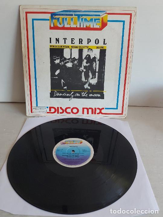 INTERPOL / DANCING ON THE MOON / 33 R.P.M. -FULLTIME-1983 / MBC. ***/*** (Música - Discos - LP Vinilo - Electrónica, Avantgarde y Experimental)