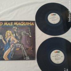 Discos de vinilo: NO MAS MÁQUINA, DOBLE LP,1993 EURO HOUSE. Lote 273129133