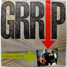 Discos de vinilo: COMMODORES - GRRIP - MAXI POLYDOR 1988 GERMANY BPY. Lote 273148978