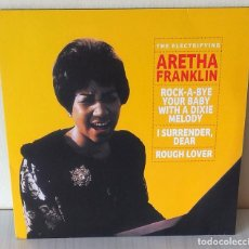 Disques de vinyle: ARETHA FRANKLIN - THE ELECTRIFYING ERMITAGE EDIC. EUROPE 180 GR -2019. Lote 273161668