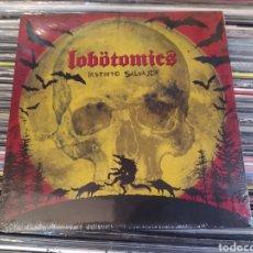 Discos de vinilo: LOBÖTOMICS–INSTINTO SALVAJE. EP VINILO PRECINTADO. PUNK TRASH. Lote 273168948
