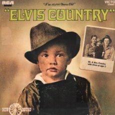 Disques de vinyle: ELVIS COUNTRY - I'M 10000 YEARS OLD / LP RCA 1987. EDICION ESPAÑOLA / BUEN ESTADO RF-9809. Lote 273254303