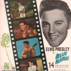 """Disques de vinyle: ELVIS PRESLEY - BLUE HAWAI - 14 CANCIONES DE LA PELICULA """"AMOR EN HAWAI"""". EDICION ESPAÑOLA RF-9810. Lote 273254428"""