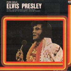 Disques de vinyle: ELVIS PRESLEY - PURE GOLD / LP RCA DE 1977. EDICION ESPAÑOLA. / BUEN ESTADO RF-9812. Lote 273254598
