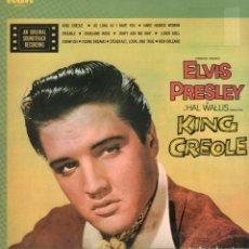 Disques de vinyle: ELVIS PRESLEY - KING CREOLE / AN ORIGINAL SOUNDTRACK RECORDING / LP RCA 1972 RF-9813. Lote 273254708
