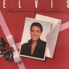 Discos de vinilo: ELVIS - MEMORIES OF CHRISTMAS / LP RCA DE 1982. / BUEN ESTADO RF-9815. Lote 273254948
