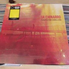 Discos de vinilo: SR. CHINARRO–PERSPECTIVA CABALLERA. LP VINILO EDICIÓN ESPECIAL DE COLOR. PRECINTADO. Lote 273261533
