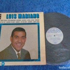 Discos de vinilo: LUIS MARIANO SPAIN LP 1969 RECOPILATORIO GRANDES EXITOS LATIN POP CHANSON REGAL SERIE AZUL MIRA !!. Lote 273297788