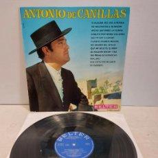 Discos de vinilo: ANTONIO DE CANILLAS / MISMO TÍTULO / LP - BELTER-1969 / MBC. ***/***. Lote 273337938