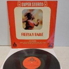 Discos de vinilo: LOS AQUARIUS / FIESTA Y BAILE / LP - TREBOL-SUPER ESTEREO-1970 / MBC. ***/***. Lote 273340178