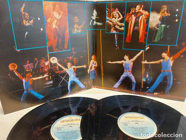 Discos de vinilo: PALOMA SAN BASILIO / EN VIVO / DOBLE LP-GATEFOLD - HISPAVOX-1985 / MBC. ***/*** - Foto 2 - 273341538