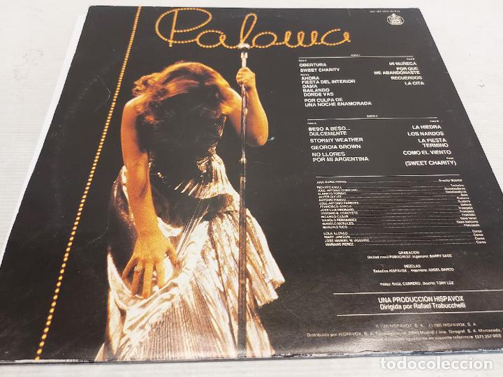 Discos de vinilo: PALOMA SAN BASILIO / EN VIVO / DOBLE LP-GATEFOLD - HISPAVOX-1985 / MBC. ***/*** - Foto 3 - 273341538
