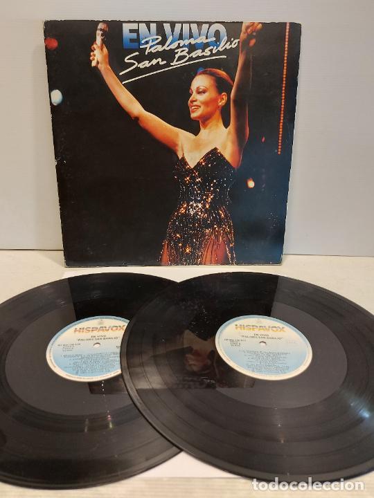 PALOMA SAN BASILIO / EN VIVO / DOBLE LP-GATEFOLD - HISPAVOX-1985 / MBC. ***/*** (Música - Discos - LP Vinilo - Solistas Españoles de los 70 a la actualidad)