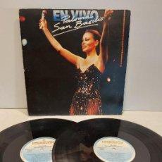 Discos de vinilo: PALOMA SAN BASILIO / EN VIVO / DOBLE LP-GATEFOLD - HISPAVOX-1985 / MBC. ***/***. Lote 273341538