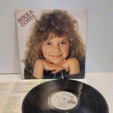 Discos de vinilo: NIKKA COSTA / MISMO TÍTULO / LP - ARIOLA-1981 / MBC. ***/*** LETRAS.. Lote 273343498