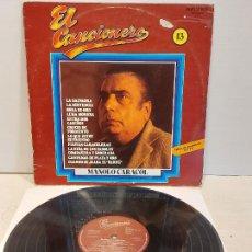 Discos de vinilo: MANOLO CARACOL / EL CANCIONERO / 13 / LP - BELTER-1980 / MBC. **/***. Lote 273345953