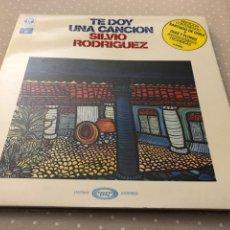 """Disques de vinyle: SILVIO RODRÍGUEZ """"TE DOY UNA CANCIÓN"""" VINILO. Lote 273350008"""
