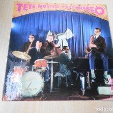 Discos de vinilo: TETE MONTOLIU Y SU QUINTETO, EP, HOME COOKIN´ + 3, AÑO 1962. Lote 273416923