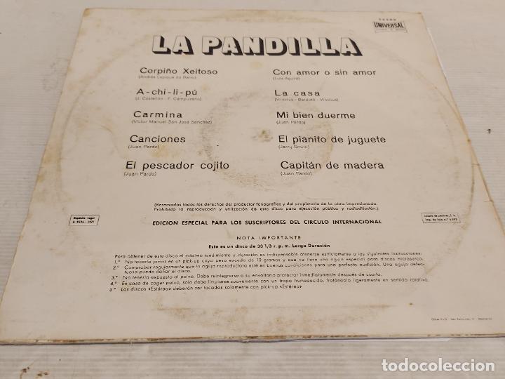 Discos de vinilo: LA PANDILLA / MISMO TÍTULO / LP - ORLADOR-1971 / MBC. ***/*** - Foto 2 - 273443823