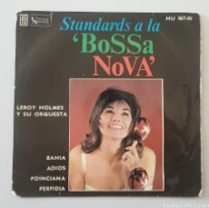 Discos de vinilo: EP LEROY HOLMES Y SU ORQUESTA - BAHIA/+3 (ESPAÑA - UA - 1962) VERY RARE PS SPAIN BOSSA. Lote 273449733