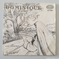 Discos de vinilo: EP LOS DOMINIC'S - DOMINIQUE/+3 (ESPAÑA - ORFEON/ZAFIRO, 1964) RARE MEXICO XIAN POP!. Lote 273451283