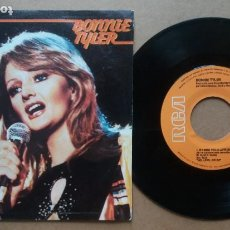 Dischi in vinile: BONNIE TYLER / IF I SING YOU A LOVE SONG / SINGLE 7 PULGADAS. Lote 273462083