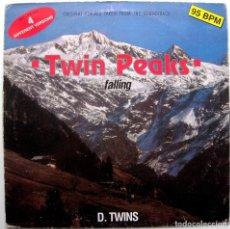 Discos de vinilo: D. TWINS - FALLING - ORIGINAL REMIXES FROM SOUNDTRACK TWIN PEAKS - MAXI DISCOMAGIC 1991 ITALIA BPY. Lote 273479648