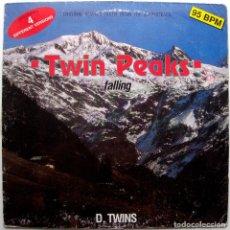 Discos de vinilo: D. TWINS - FALLING - ORIGINAL REMIXES FROM SOUNDTRACK TWIN PEAKS - MAXI DISCOMAGIC 1991 ITALIA BPY. Lote 273480313